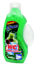 Q Power WC gel 400 ml borovice