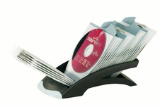 CD/DVD box Durable černý