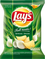 Lays bramburky Onion